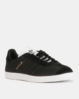 27b54d4182ec adidas Originals Gazelle W Sneakers CBLACK CBLACK FTWWHT