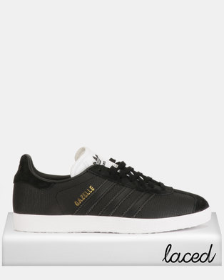 best service a9f83 59698 adidas Originals Gazelle W Sneakers CBLACKCBLACKFTWWHT