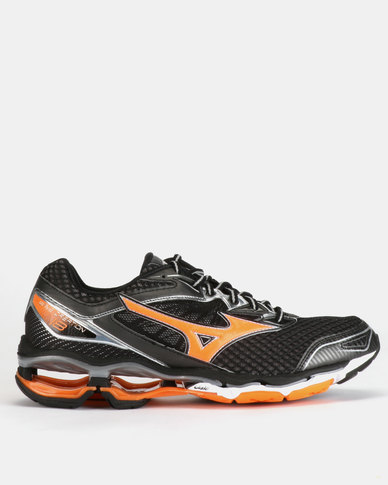 save off 445d6 c075f Mizuno Wave Creation Trainers Black