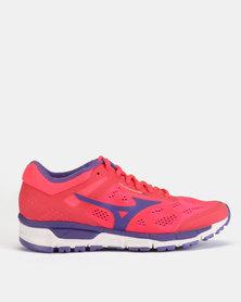 Mizuno Synchro MX Shoes Pink