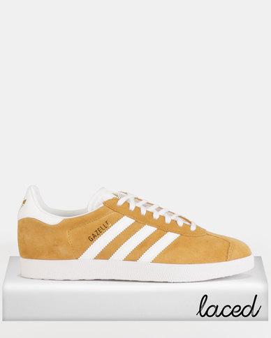 pretty nice 1db47 4dd38 adidas Originals Gazelle Sneakers MESAFTWWHTFTWWHT  Zando