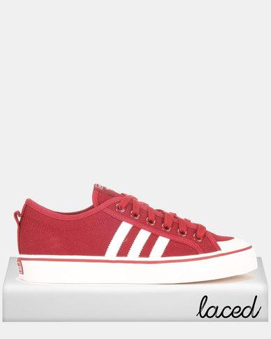 adidas Originals Nizza Sneakers CBURGU/FTWWHT/CRYWHT