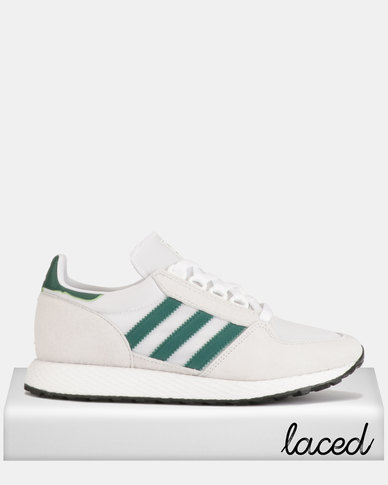 new concept c8453 23af1 adidas Originals Forest Grove Sneakers CRYWHT CGREEN CBLACK   Zando