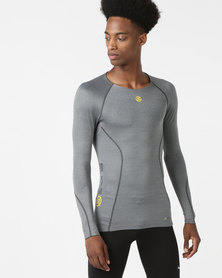 Skins A200 Men Top LS Grey