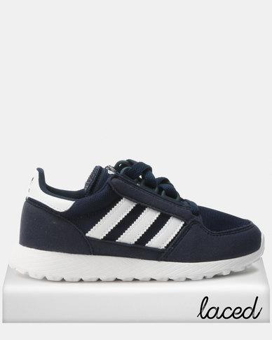 huge discount a0946 0c516 adidas Originals Boys Oregon CF C Sneakers Navy  Zando