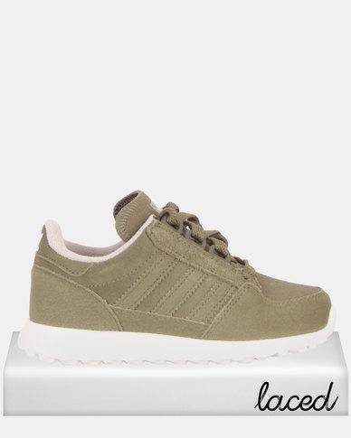 adidas Originals Boys Forest Grove C Baskets Olive Zando