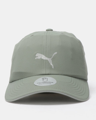 e5418fe8de6 Puma Performance Running Cap III Green