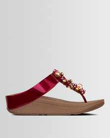 FitFlop Deco Fire Red