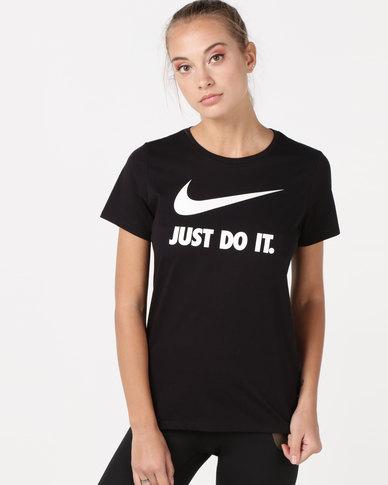 Nike W NSW Tee Crew JDI SWSH HBR Black