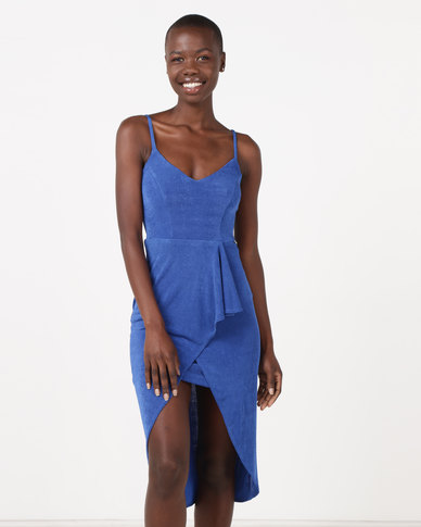 Sissy Boy Midi Dress Cobalt