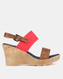 Butterfly Feet Melody Wedge Sandals