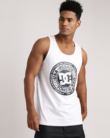 DC Circle Star Tank White