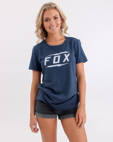 Fox Bolted Crew T-Shirt Yatch