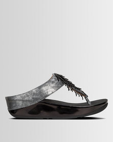 FitFlop Cha Cha Black Shimmer
