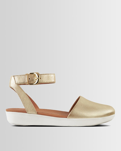 FitFlop Cova Metallic Gold
