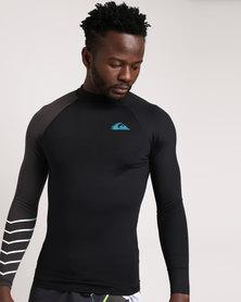 Quiksilver Active Long Sleeve Rashvest Black