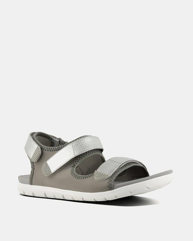 ce1149a15 FitFlop Neoflex Sandals Soft Grey Silver