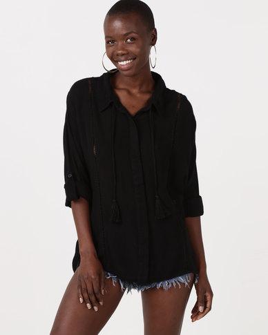 Rip Curl Lara Shirt Black