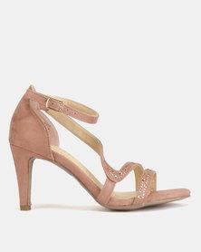 Bata Ladies High Heel Sandals Dusty Pink