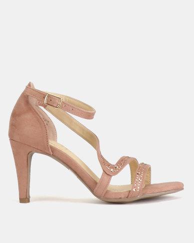 6a3bfc970 Bata Ladies High Heel Sandals Dusty Pink