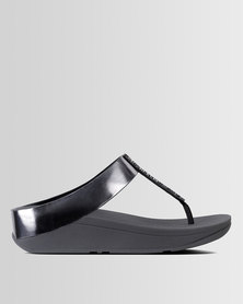FitFlop Fino Pewter