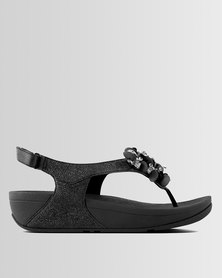 FitFlop Boogaloo Sandals Black
