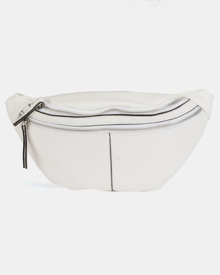 New Look Lead In Bumbag White