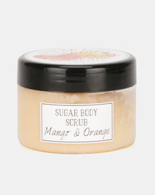 A Thousand Things Mango And Orange Sugar Scrub