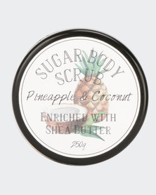 A Thousand Things Pineapple And Coconut Sugar Scrub