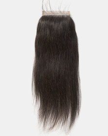 "Bliss Hair 10"" 4 Part Brazilian Closure Black"
