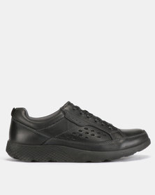 Step On Airs Clark Lace Up Shoes Black