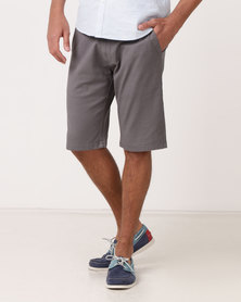 Jonathan D Chino Shorts Grey