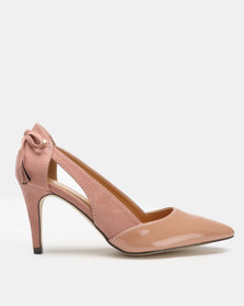 Polo Classic Mid Heel Courts Nude