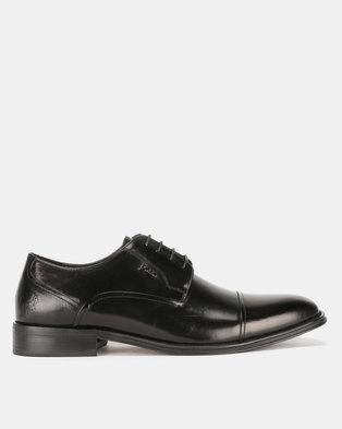 75230fcc0e5 Polo Mens Formal Seam Lace Up Black