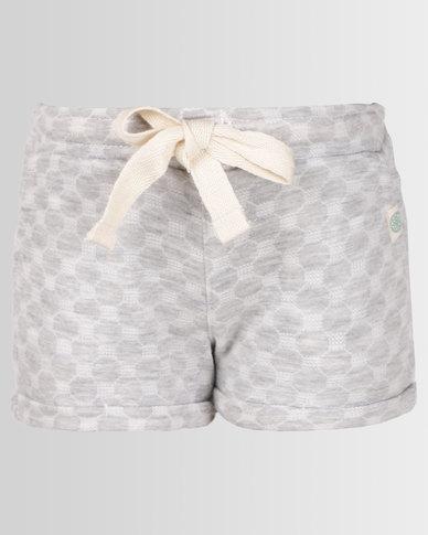 Lizzy Girls Violet Shorts Grey