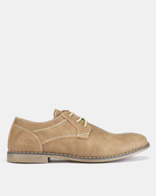Luciano Rossi Lace Ups Camel