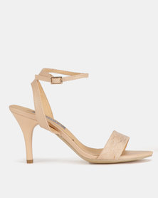 Utopia Barely There Heels Pink