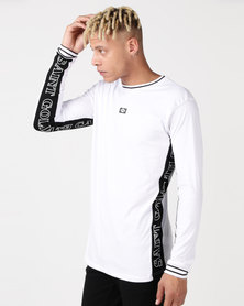 St Goliath Mortal Long Sleeve Tee White