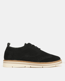 Utopia Lace Up Shoes Black