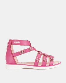 Bubblegummers Girls Flower Sandals