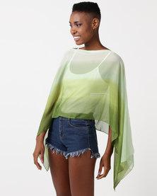 Joy Collectables Kaftan Ombre Green