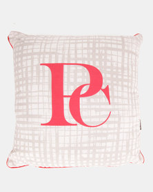 Pierre Cardin Texture Scatter Cushion Red