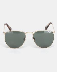 Superdry Eyewear Momoka Sunglasses Gold