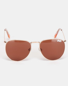 Superdry Eyewear Momoka Sunglasses Rose Gold