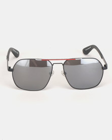 Superdry Eyewear Race Way Sunglasses Black