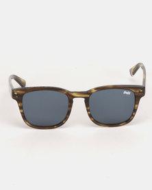 Superdry Eyewear Montego Sunglasses Brown