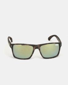 Superdry Eyewear Kobe Sunglasses Dark Tortoise Shell