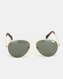 Superdry Eyewear Huntsman Sunglasses Gold