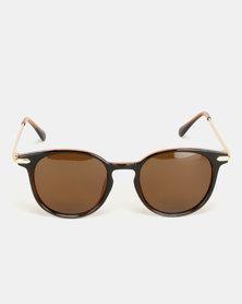 Move Sunglasses Brown/Gold
