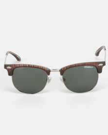 O'Neill Eyewear Cove Sunglasses Silver/Brown